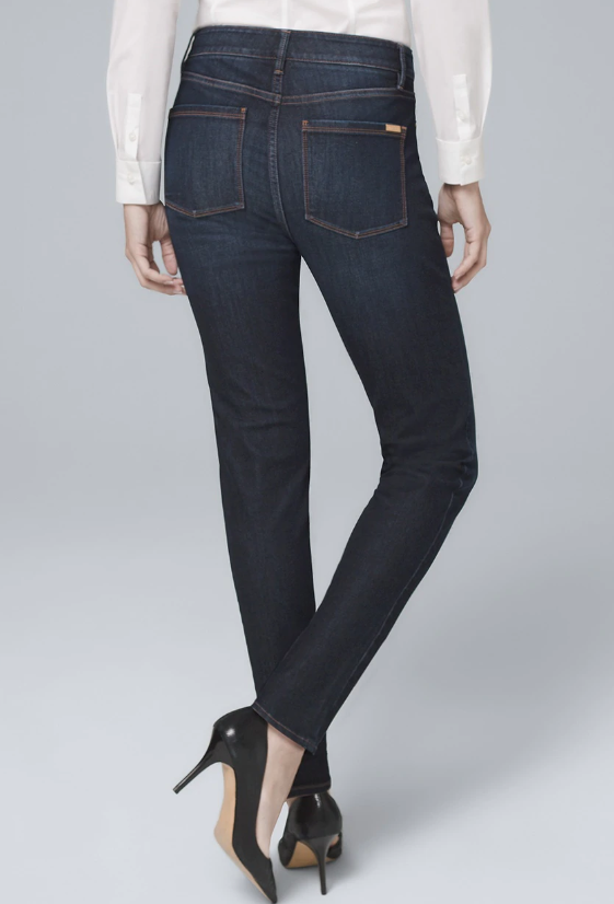 High-Rise Sculpt Fit Slim Jeans