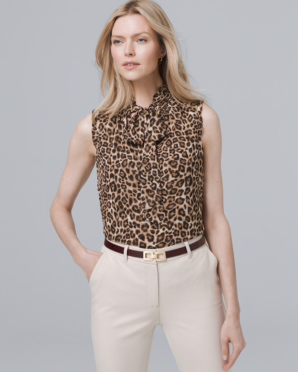 Leopard shell top
