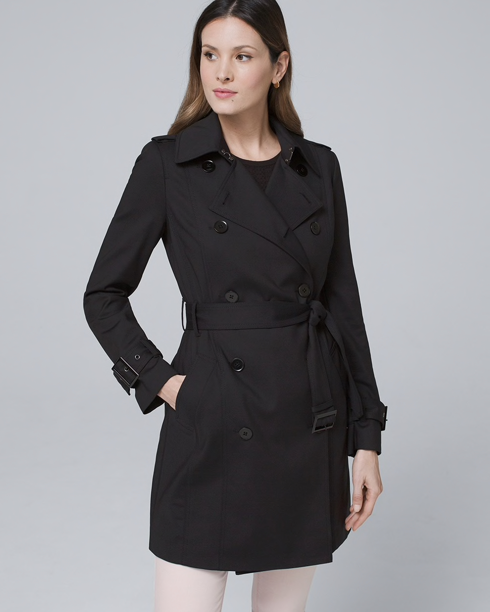 Capsule Wardrobe Jackets Classic Trench Coat