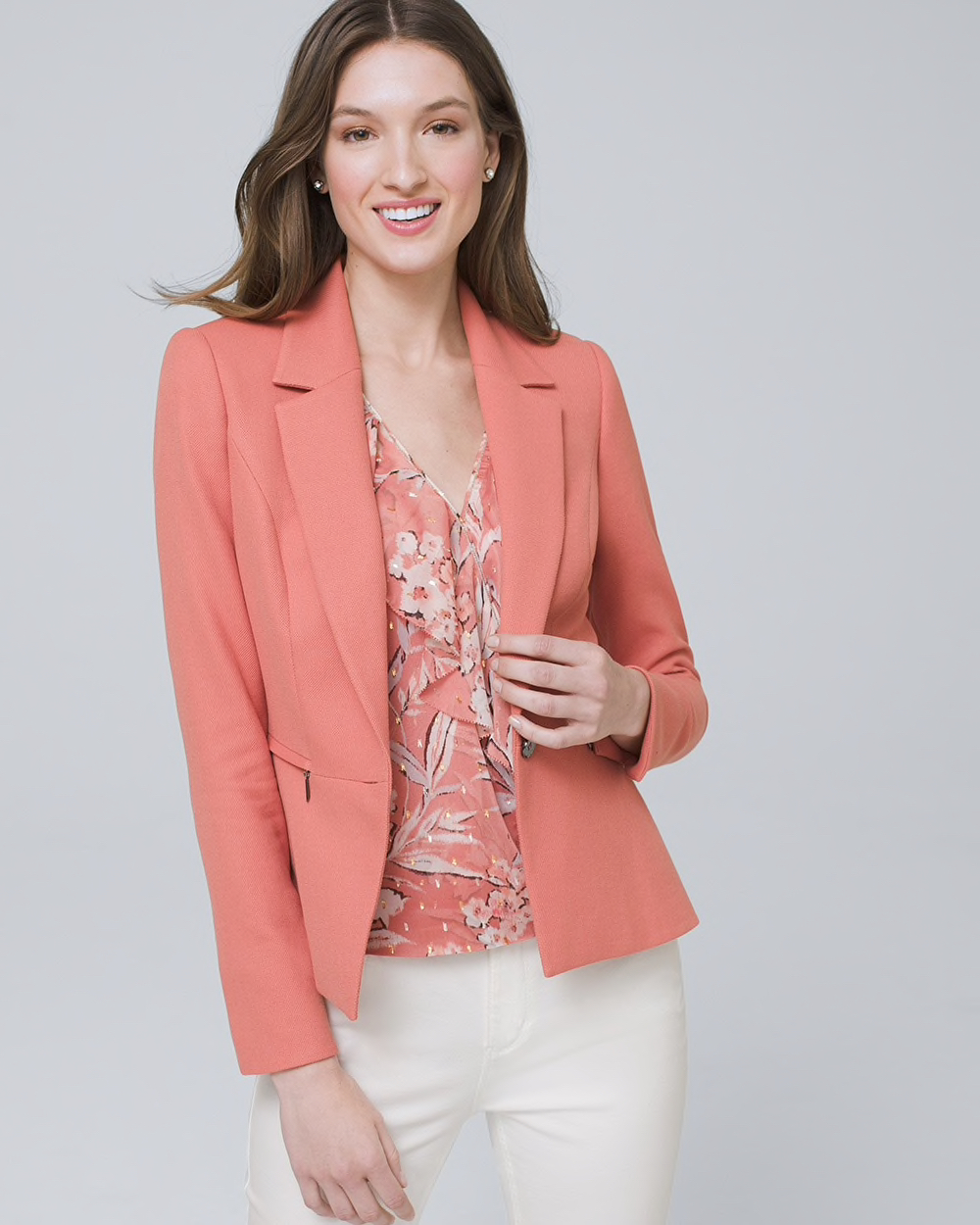 Capsule Wardrobe Jackets Luxe Suiting Jacket