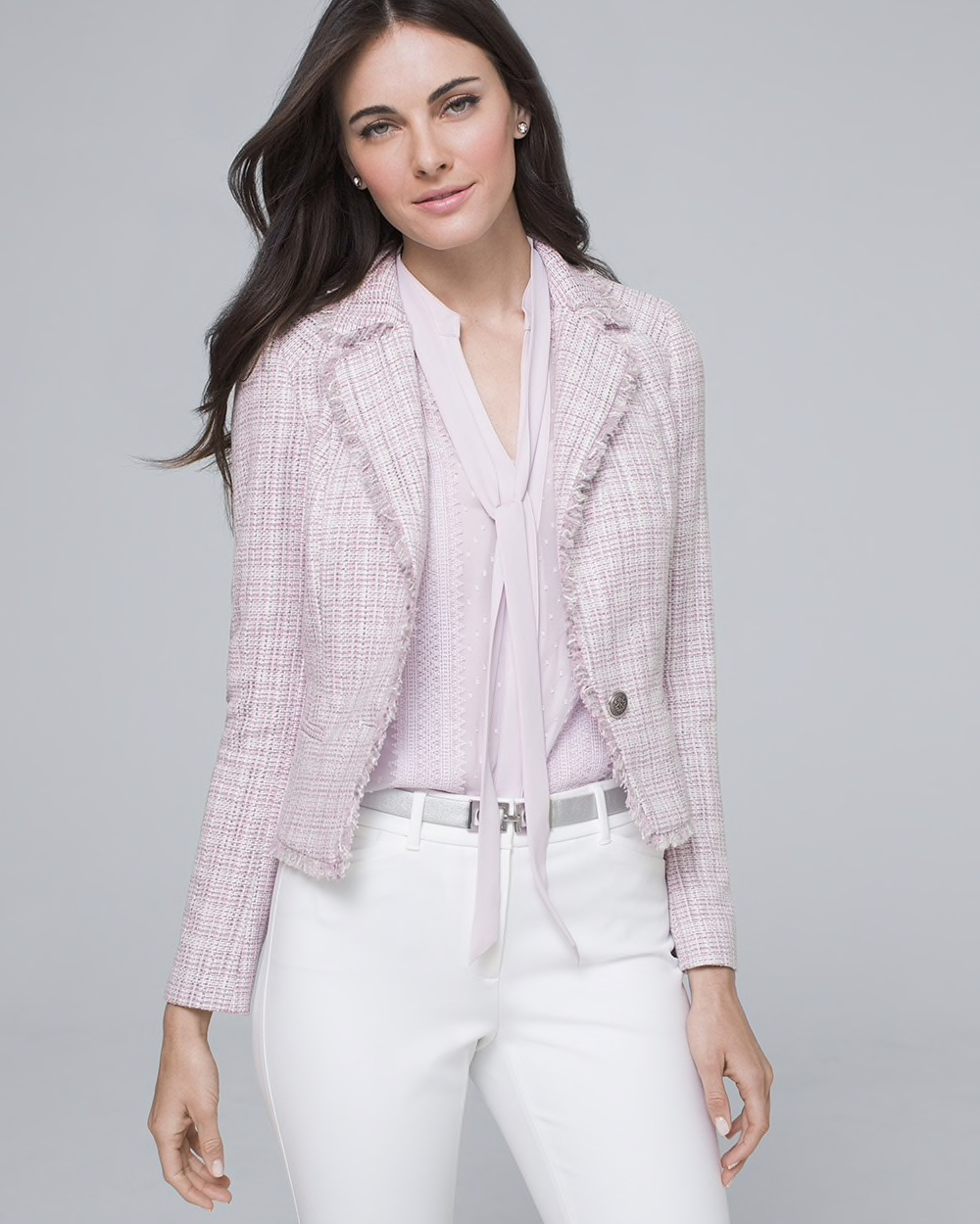 Capsule Wardrobe Jackets Tweed Jacket