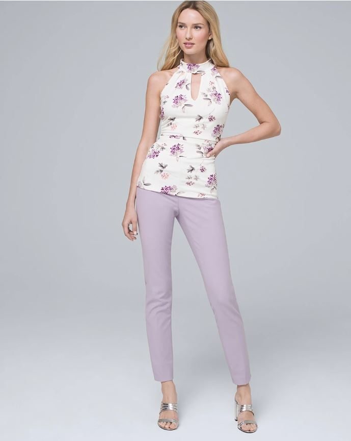 COMFORT STRETCH SLIM ANKLE PANTS