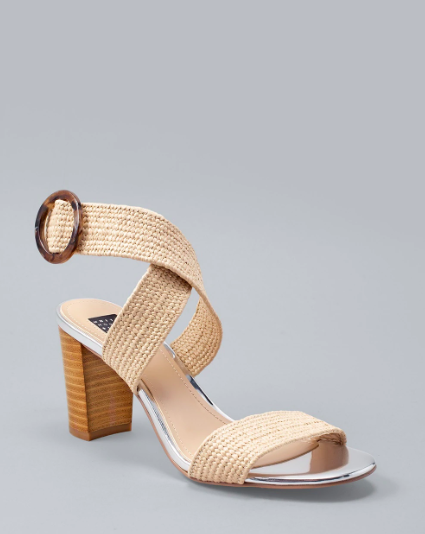Medium Stacked Heel