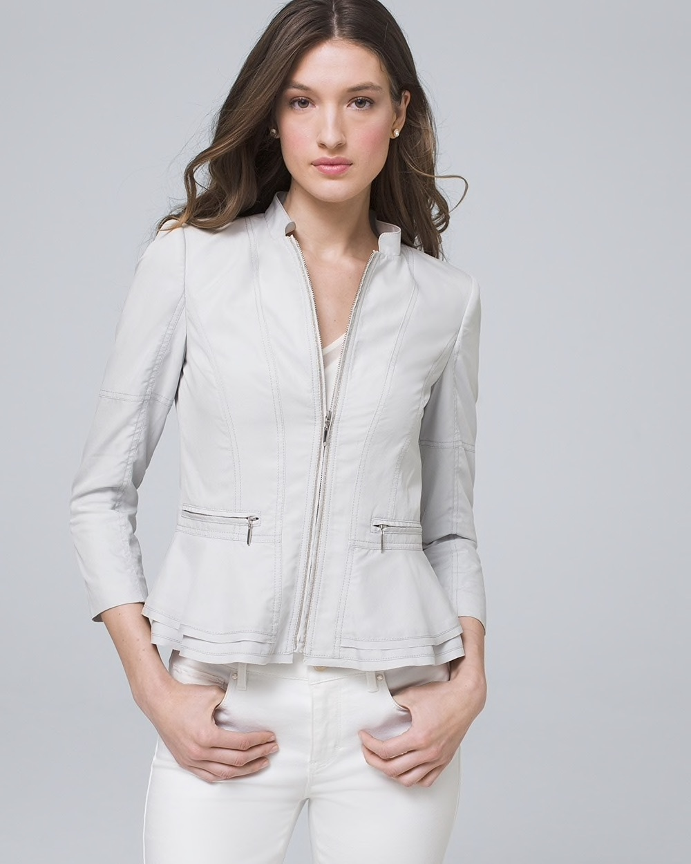 Soft Peplum Jacket
